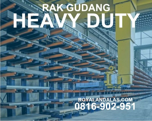 Rak Gudang Push Back Rack