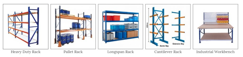 Rak gudang Heavy Duty Racking