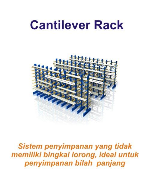 Harga Jual Rak Gudang Heavy Duty Flow Rack Cantilever